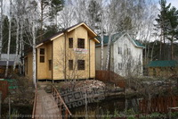 Каркасно-панельный дом из SIP панелей