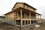 двухэтажный быстровозводимый дом
